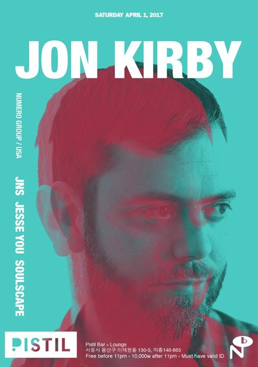 Jon Kirby ( Numero Group/ USA) at Pistil