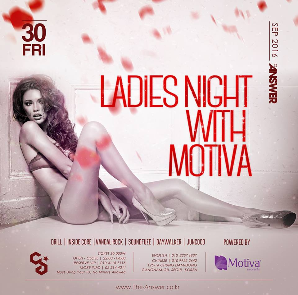 LADIES NIGHT with MOTIVA