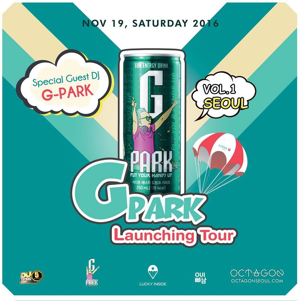 G.PARK LAUNCHING TOUR VOL.1