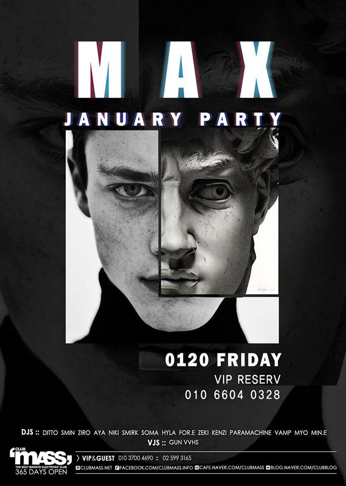 MAX PARTY TEAM - Club Mass