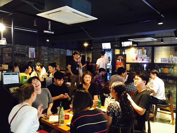 Hongdae, Meet up and Language Exchange 영어회화