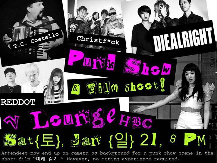 Rock Show Film Shoot