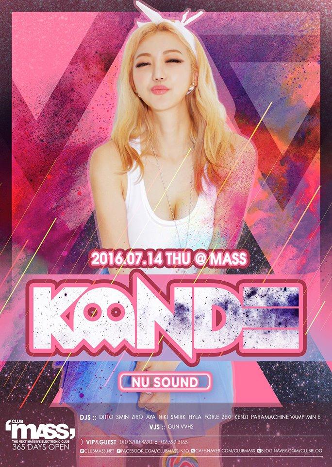 NUSOUND PARTY GUEST DJ-KANDE