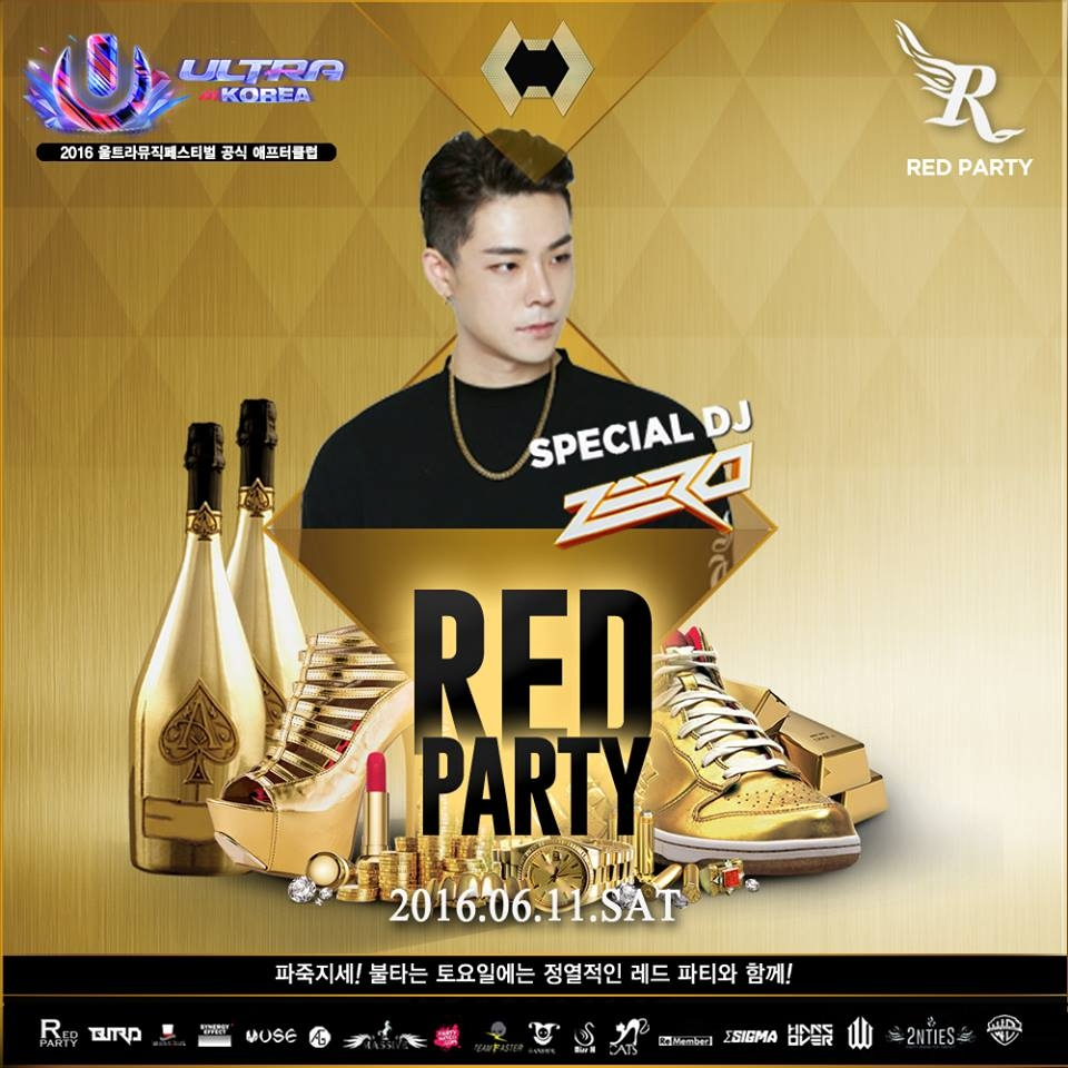 Red Party with Club Bugatti