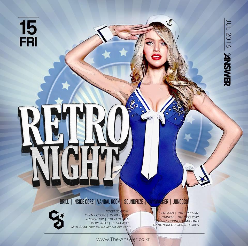 Retro Night at Club Answer