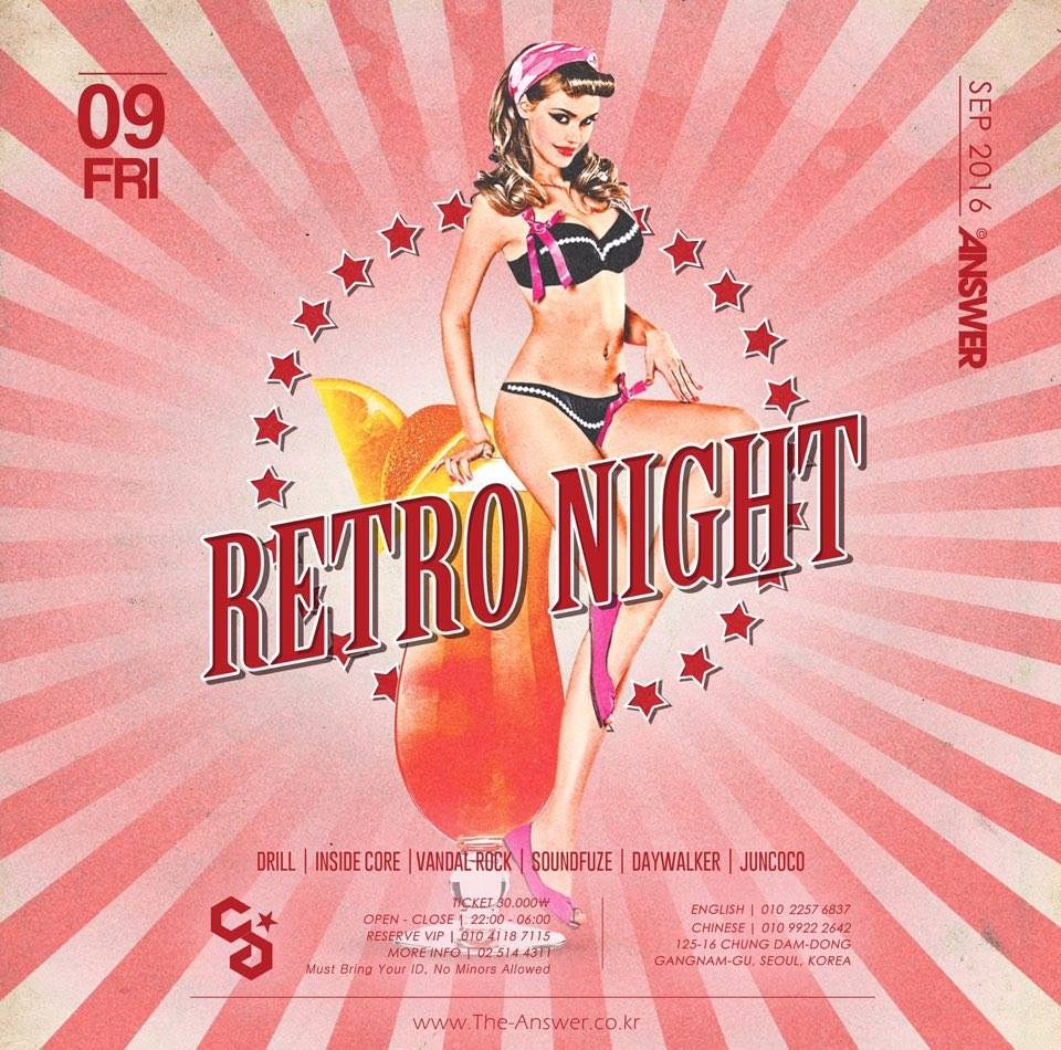 Retro Night at Club Answer this Friday