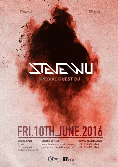 Steve Wu at B One Lounge Club Itaewon