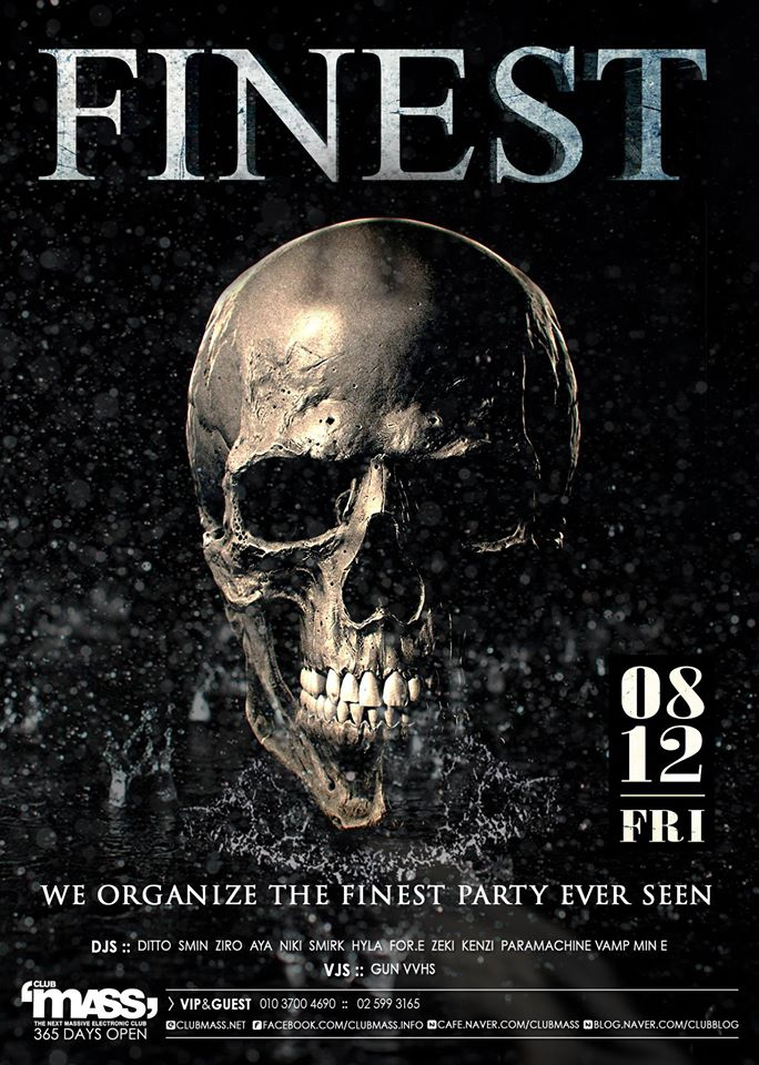TEAM FINEST PARTY at Club Mass this Fri!
