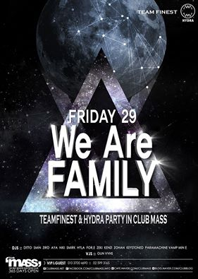 TEAM FINEST PARTY WE ARE FAMILY!!!