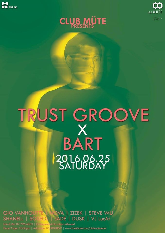 TRUST GROOVE x Bart