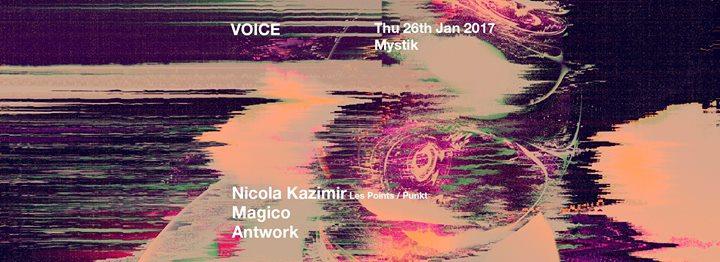 Voice with Nicola Kazimir