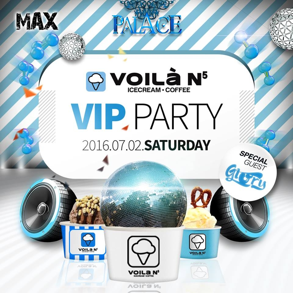 VOILA VIP PARTY at Club Palace