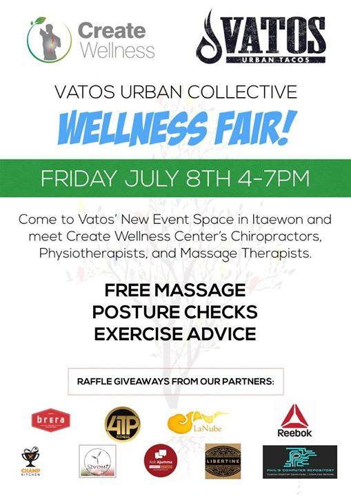 Wellness Fair at Vatos Urban Collective