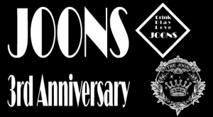 9.23 SAT) JOONS 3rd Anniversary Party