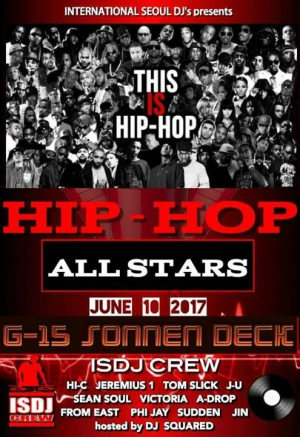 Hip Hop All-Stars Showcase at G-15 Sonnendeck