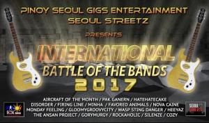 International Battle of the Bands 2017 at JJ's Manhattan