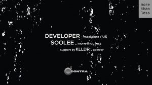More Than Less invites Developer (Modularz / US)