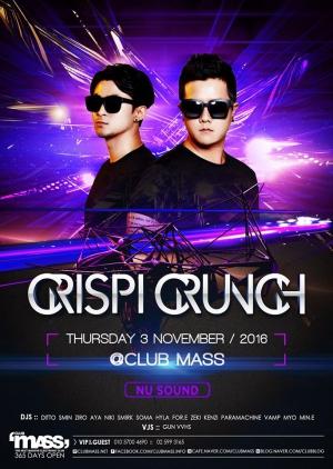 NUSOUND PARTY GUEST DJ CRISPI CRUNC