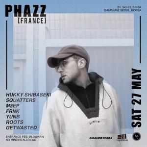 Phazz in APT CLUB SEOUL