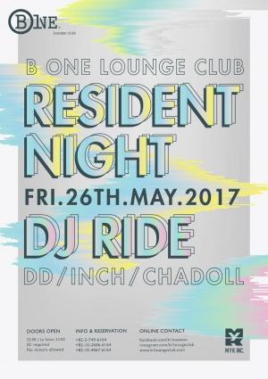 Resident Night with DJ Ride