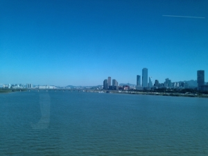 Crossing the Han River
