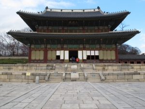 Oldest wooden palace structure in Seoul