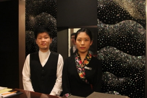 Smiling Staff at Yongsusan