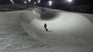 Snowboarders at Vivaldi Park