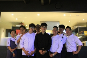 Soigne restaurant team