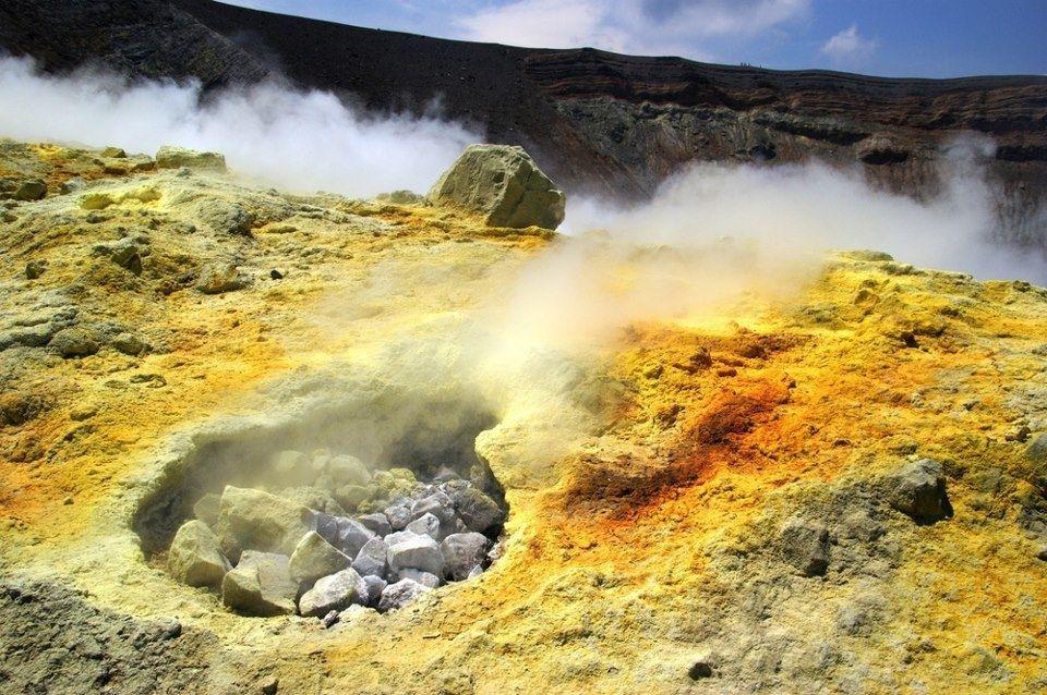 Fossa di Vulcano, fumaroles