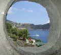 Lipari castle view