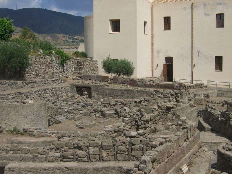 Lipari archeological remains