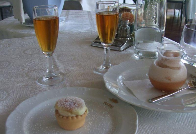 Desserts at Da Fillippino