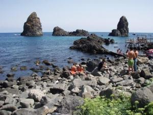 Aci Trezza, Sicily - Cyclops rocks