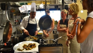 Cooking lesson with Chef Angelo