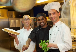the cooking staff