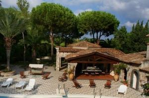 the sun terrace