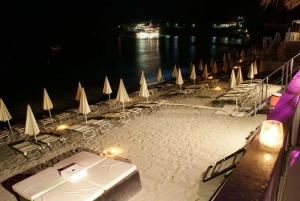 Meridian beach by night