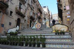 nativity scene Caltagirone, Sicily