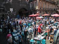 fish market in Catania