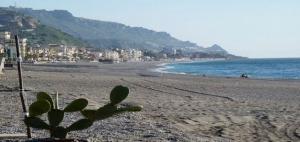 beach of Letojanni