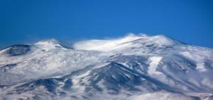 Winter on Mt. Etna by Luigi Strano