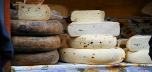 cheeses from Ragusa