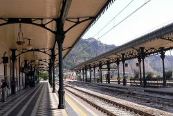 train station Taormina-Giardini Naxos