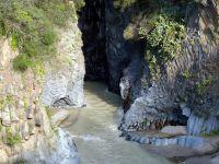 Alcantara Gorges by Luigi Strano