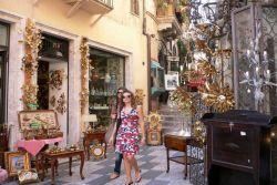 antiques, Taormina, by Luigi Strano