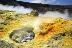 Fumaroles, Vukcano, Aeolian Islands, Sicily