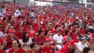 Singaporeans during a National Day Celebration. Photo Courtesy Todayonline.com