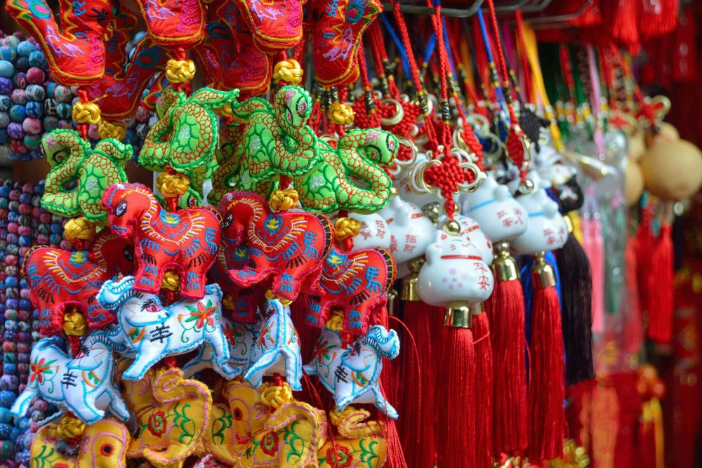 Auspicious Chinese New Year Decorations