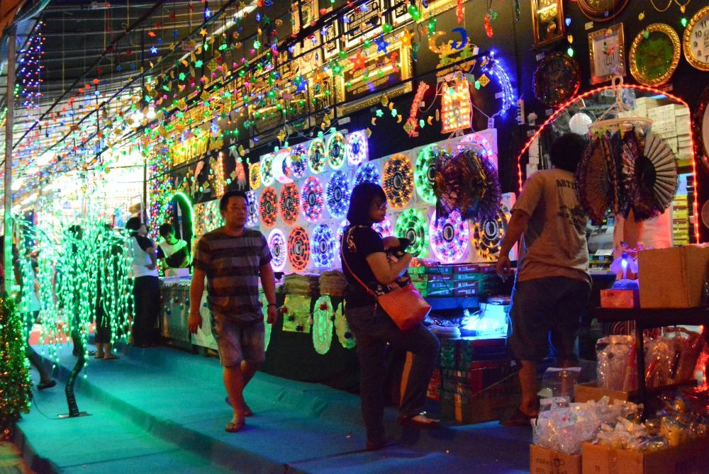 Festive Decorations at Geylang Serai Bazaar